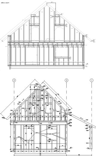 Projektovani Drevostaveb V Autocadu Architecture Cad Software